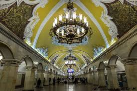 Mayakovskaya metro Moskva