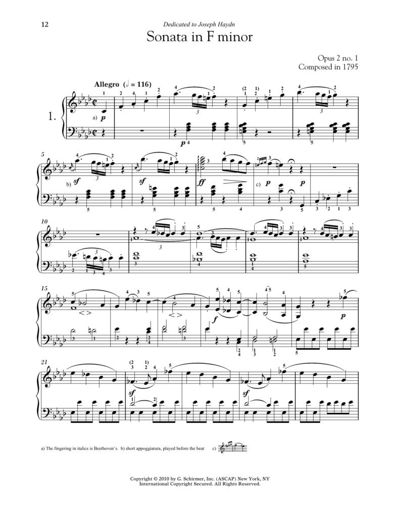 Sonate i f-mol