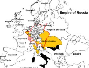 Habsburgske rige på Antonio Salieris tid