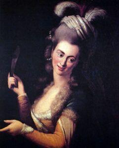 Aloysia Weber. Wolfgang Amadeus Mozarts første kærlighed