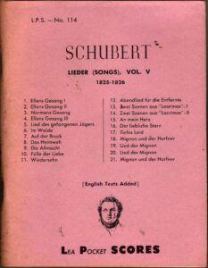 Franz Schubert Lieder