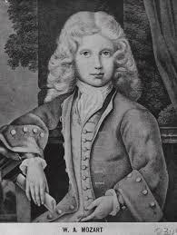Wolfgang Amadeus Mozart som teenager