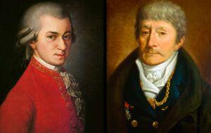 Antonio Salieri og Mozart