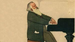 Johannes Brahms Cartoon