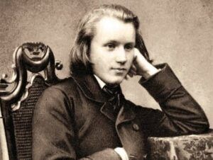 Johannes Brahms som 20-årig