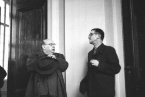Hanns Eisler og Bertolt Brecht