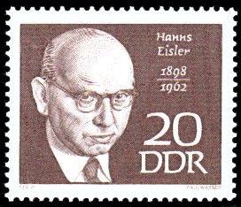 Hanns Eisler Briefmarken