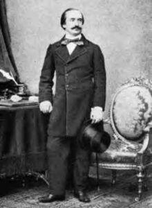 Musikanmelderen Eduard Hanslick sympatisk indstillet over for Antonín Dvořák