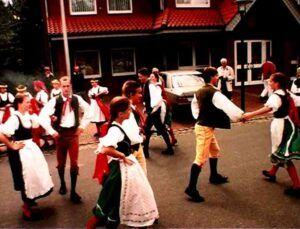 Furiant dans inspirerede Antonín Dvořák
