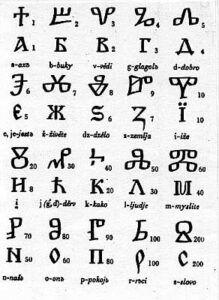 Glagolitic alfabet