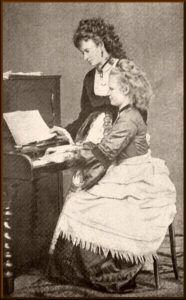 Josefina og Anna - sidstnævnte var Antonins kone