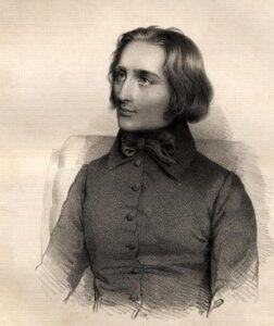 Franz Liszt som ung