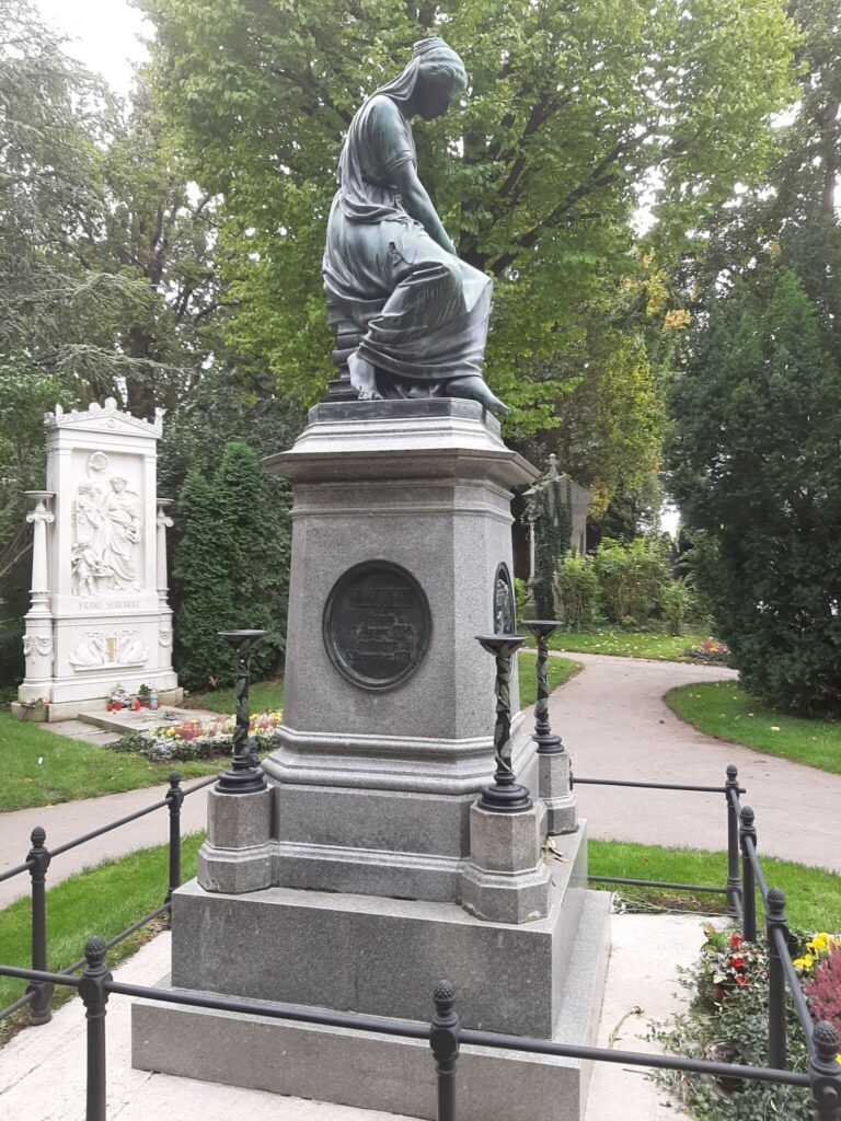 Wolfgang Amadeus Mozart på Zentralfriedhof