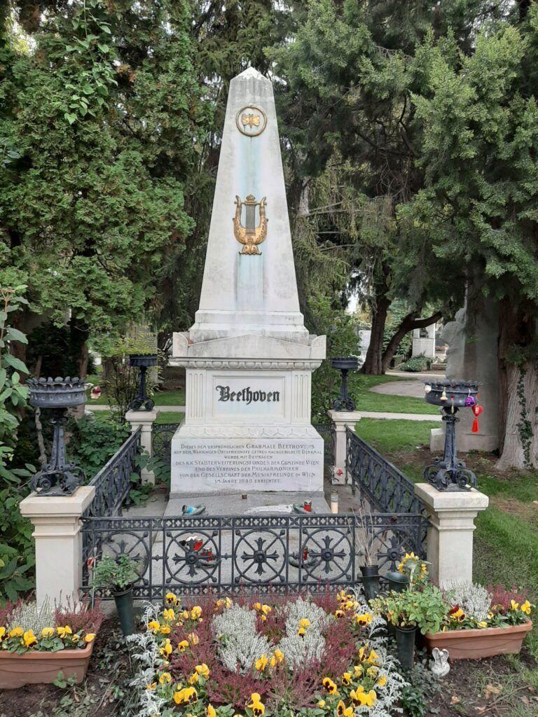 Ludwig van Beethoven gravmælde på Zentralfriedhof i Wien