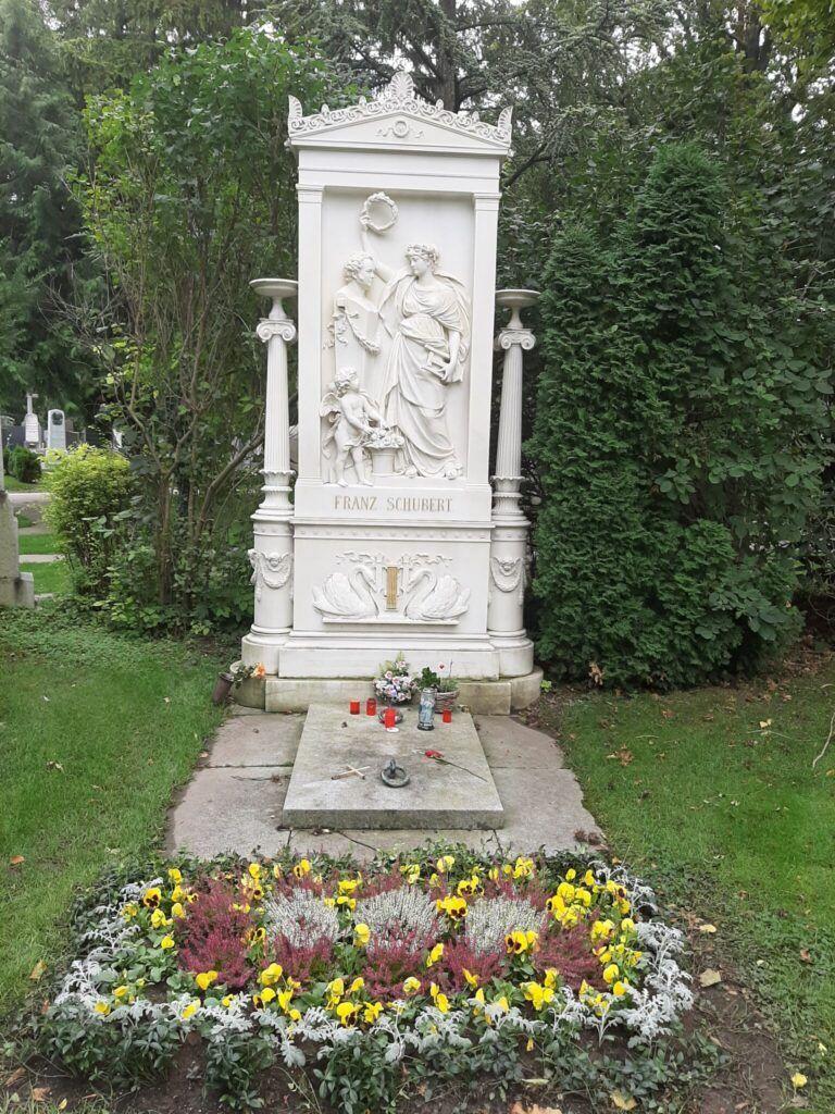 Johannes Brahms gravmæle på Zentralfriedhof i Wien
