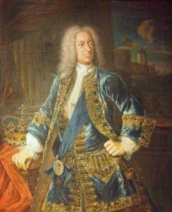 George II af Storbritannien, ligeledes Georg Friedrich Händels arbejdsgiver