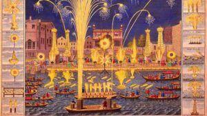 Royal Fireworks på Themsen, komponist Georg Friedrich Händel