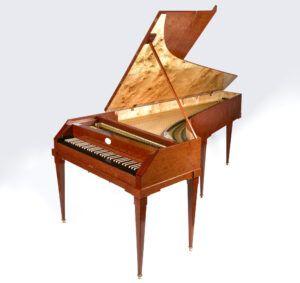 Anton Walter pianoforte. Johann Christian Bachs foretrukne instrument.