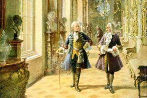 Frederik den Store, Carl Philipp Bachs arbejdsgiver