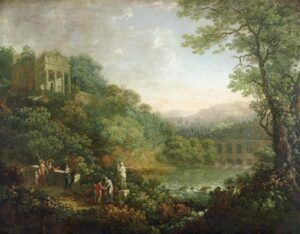 Maleri af Johann Sebastian Bach (Jr.). Søn af Carl Philipp Emanuel Bach