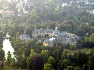 Bückeburg slot hvor Johann Christoph Friedrich Bach var 'kapellmeister'