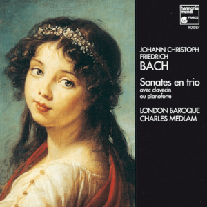 Johann Christoph Friedrich Bach sonater
