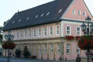 Johann Christoph Friedrich Bach og Lucia Elisabeth Bachs, née Münchhausen, hjem i Bückeburg